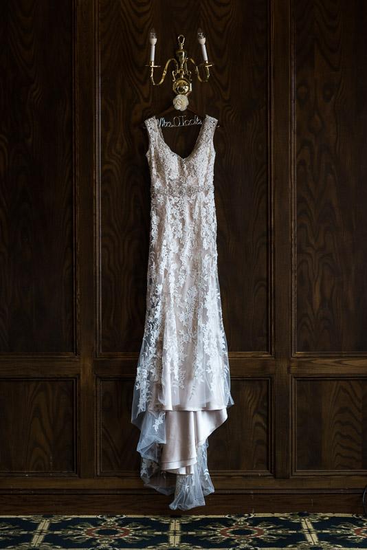 Denver athletic club wedding dress