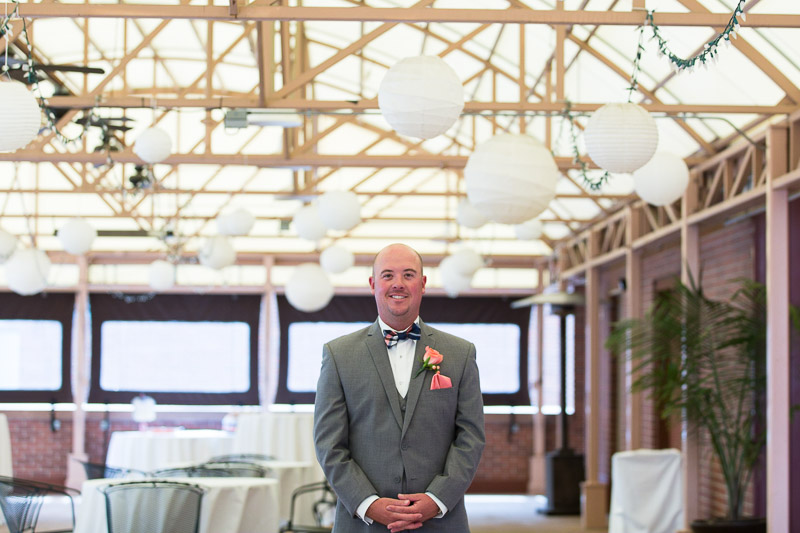 Denver athletic club wedding first look