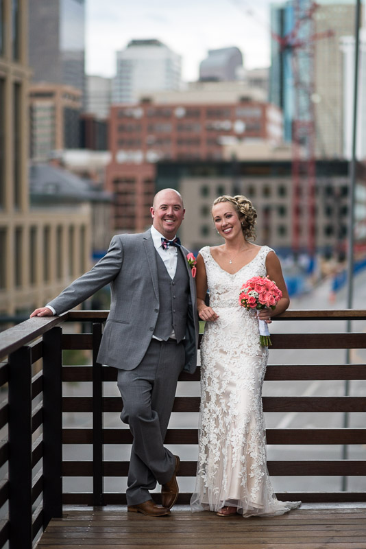 Denver athletic club wedding downtown denver