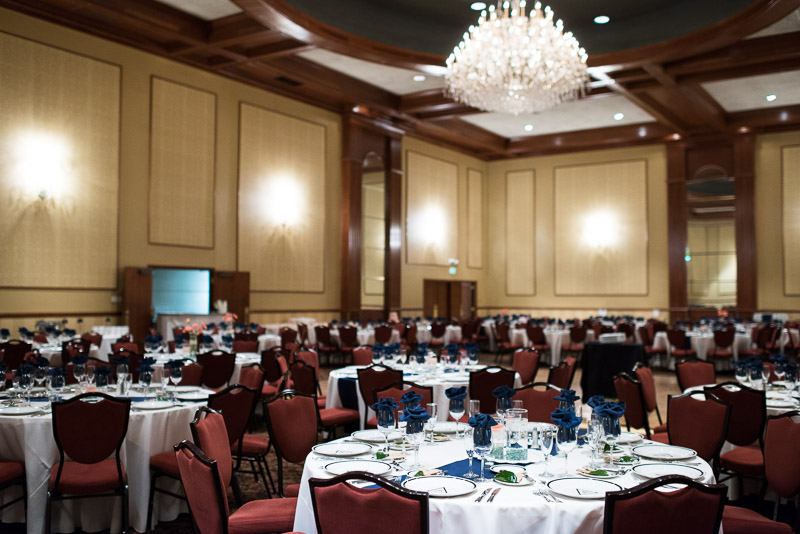 Denver athletic club wedding ballroom