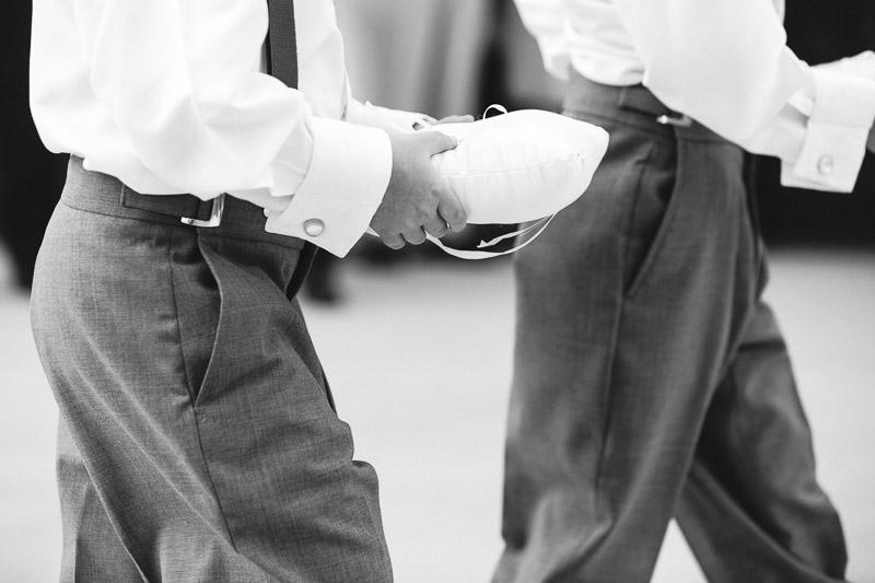 Denver athletic club wedding ringbearers