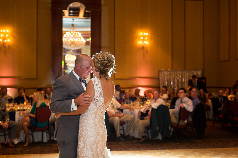 Denver athletic club wedding first dance