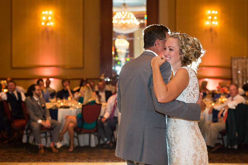 Denver athletic club wedding dance