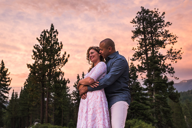 Tahoe Engagement Photography