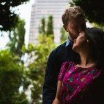 San Francisco engagement photography financial district