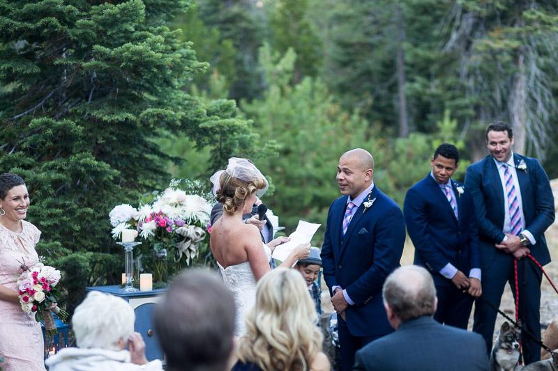 Lake Tahoe Wedding Photographer laughter