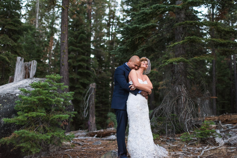 Lake Tahoe Wedding Photographer hug