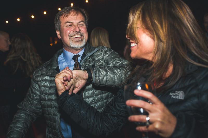 Lake Tahoe Wedding Photographer dancing