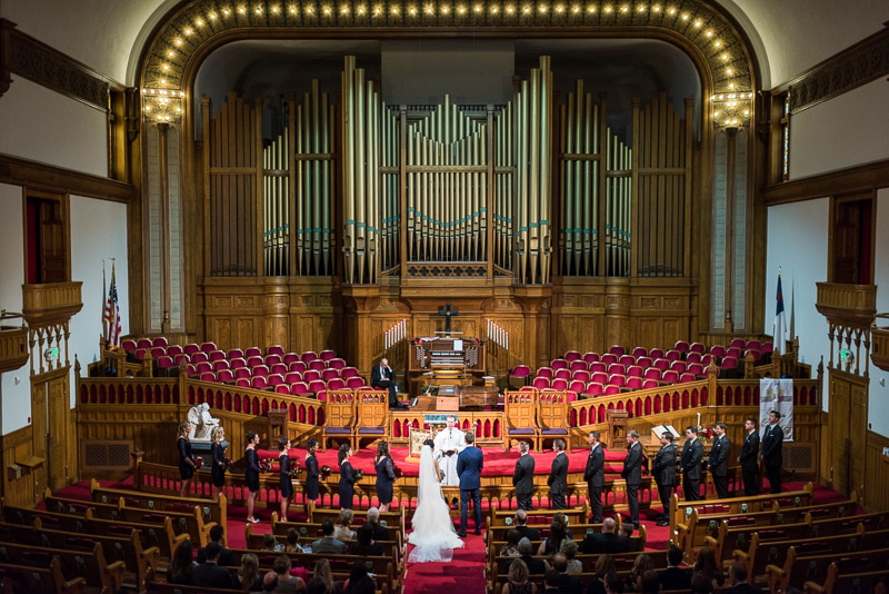 Denver Athletic Club Wedding Photographer