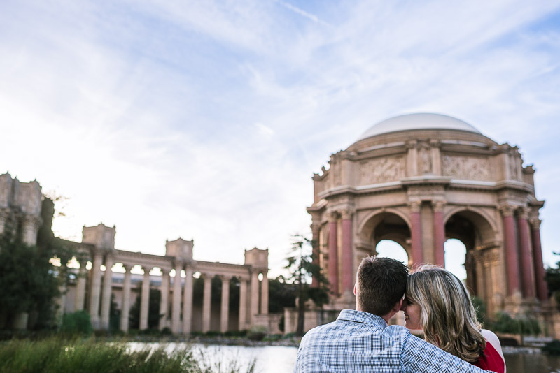 San Francisco Engagement Photography Palace of Fine Arts