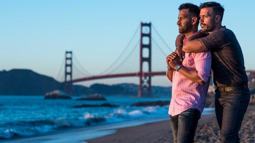 San Francisco Engagement Photographer Baker Beach