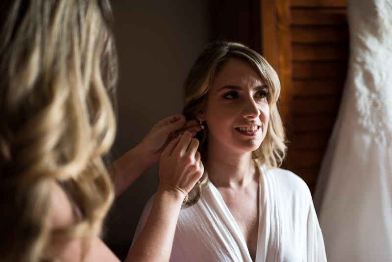San Jose wedding photography bride getting ready