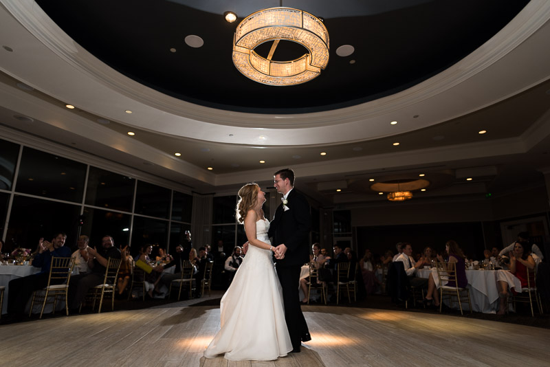 San Jose Silver Creek Country Club wedding photography first dance
