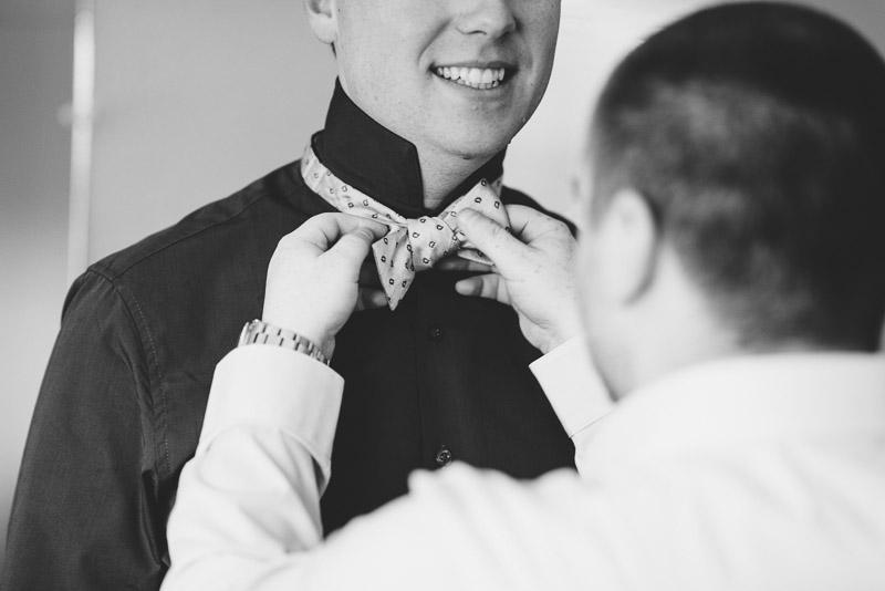 San Francisco Wedding Photography Villa Chanticleer groom getting ready