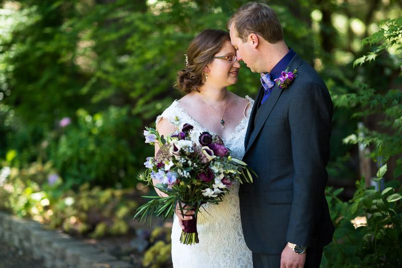 San Francisco Wedding Photography Villa Chanticleer happy bride and groom