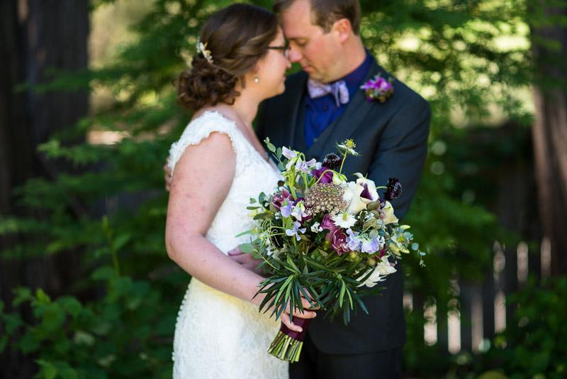 San Francisco Wedding Photography Villa Chanticleer bouquet