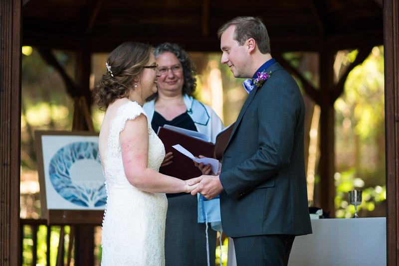 San Francisco Wedding Photography Villa Chanticleer ceremony