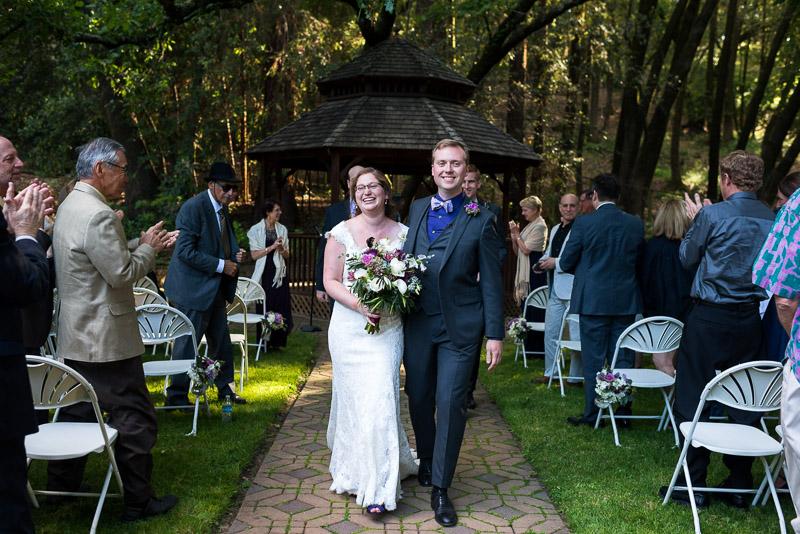 San Francisco Wedding Photography Villa Chanticleer happy couple