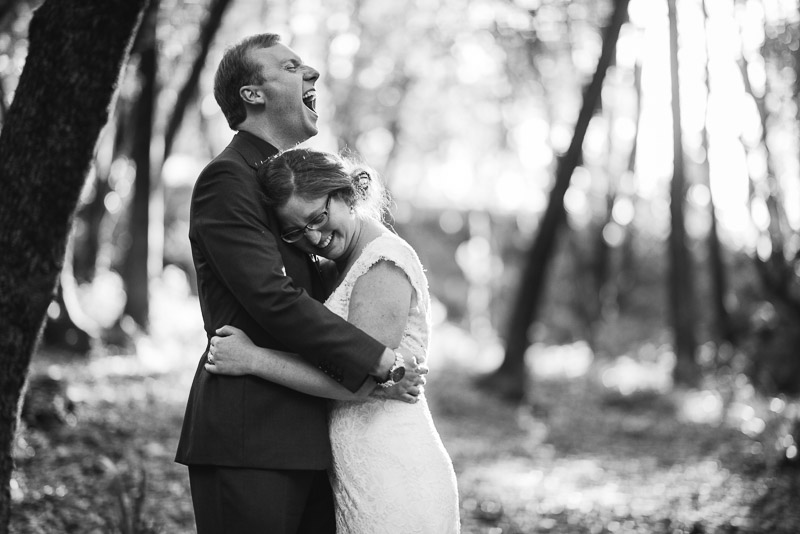 San Francisco Wedding Photography Villa Chanticleer laughing couple