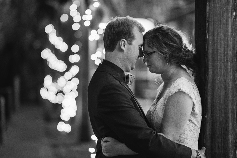 San Francisco Wedding Photography Villa Chanticleer porch with lights