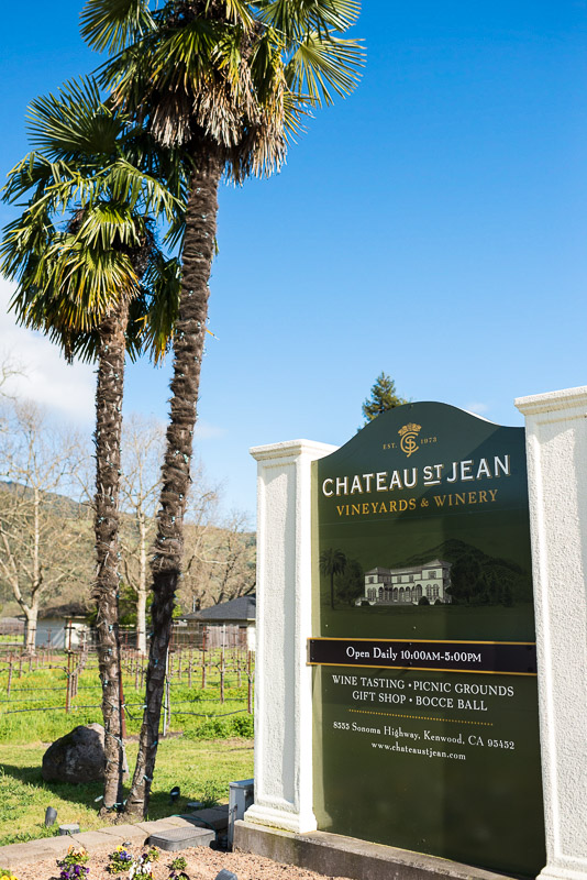 Sonoma Chateau St Jean Vineyard