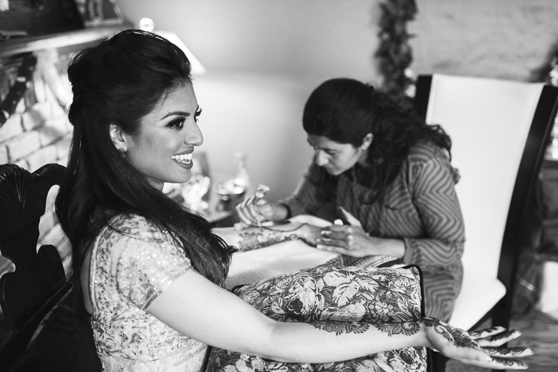 San Francisco Mehndi Ceremony Photographer bride laughing