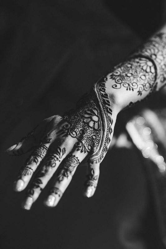 San Francisco Mehndi Ceremony Photographer henna on arm