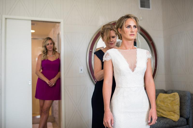 San Francisco Wedding Photographer Argonaut Hotel bride wedding dress