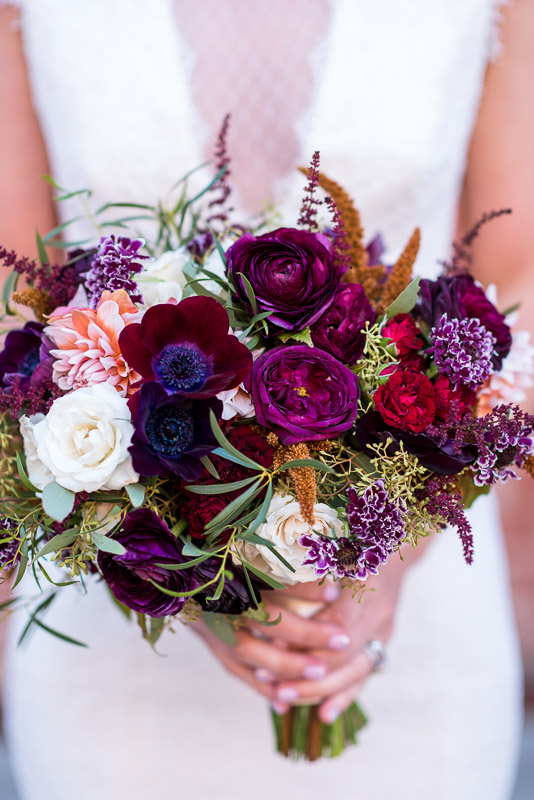 San Francisco Wedding Photographer Argonaut Hotel bouquet