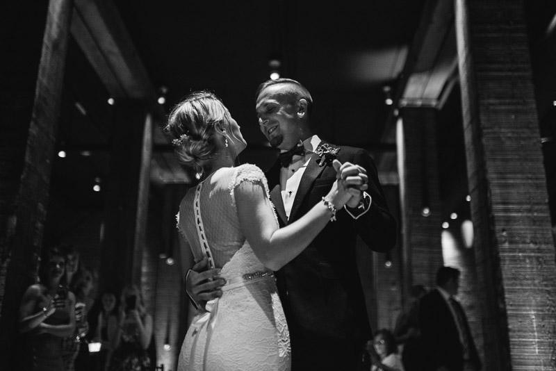 San Francisco Wedding Photographer Argonaut Hotel first dance