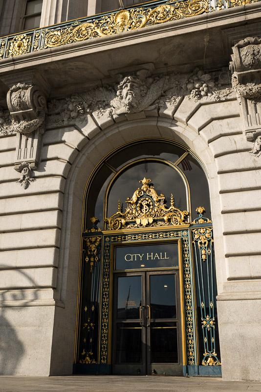 San Francisco City Hall Door