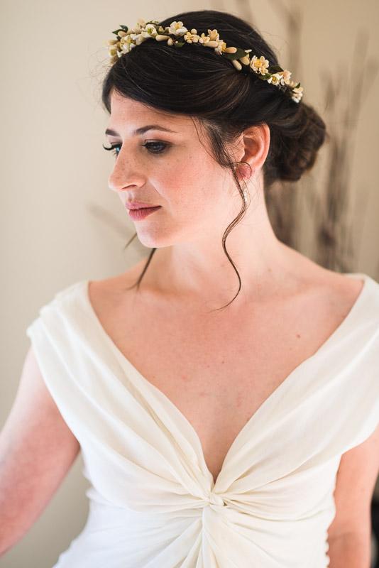 Strauss home ranch wedding bride beautiful portrait
