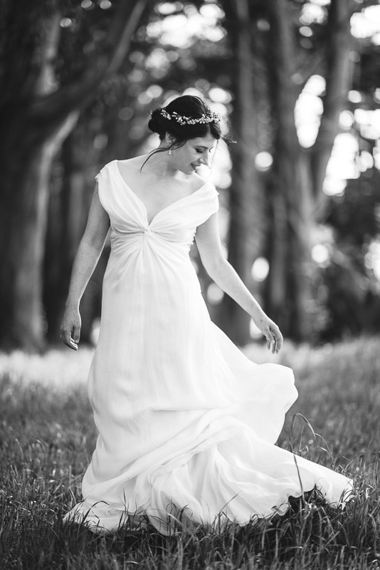 Strauss home ranch wedding dress