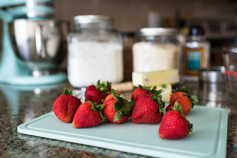 denver small business photography strawberries