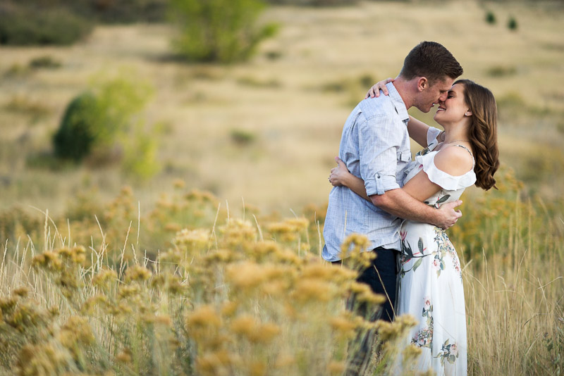 Denver Engagement Photography Morrison fall mountains