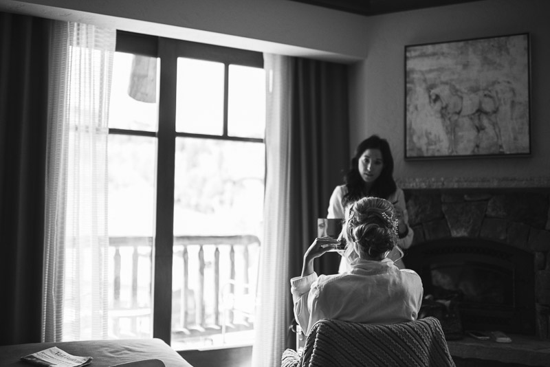 Vail Wedding Photography Camp Hale bride getting ready