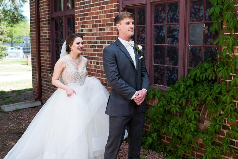 Denver Wedding Photography Wellshire Inn first look