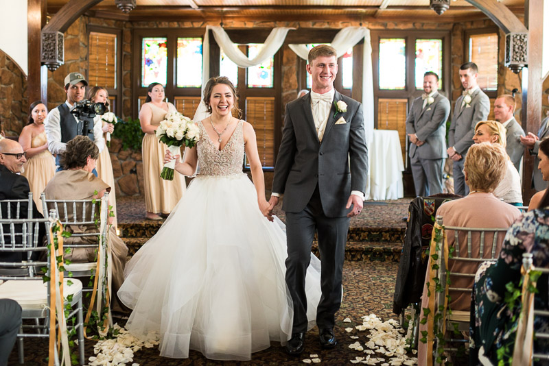 Denver Wedding Photography Wellshire Inn just married