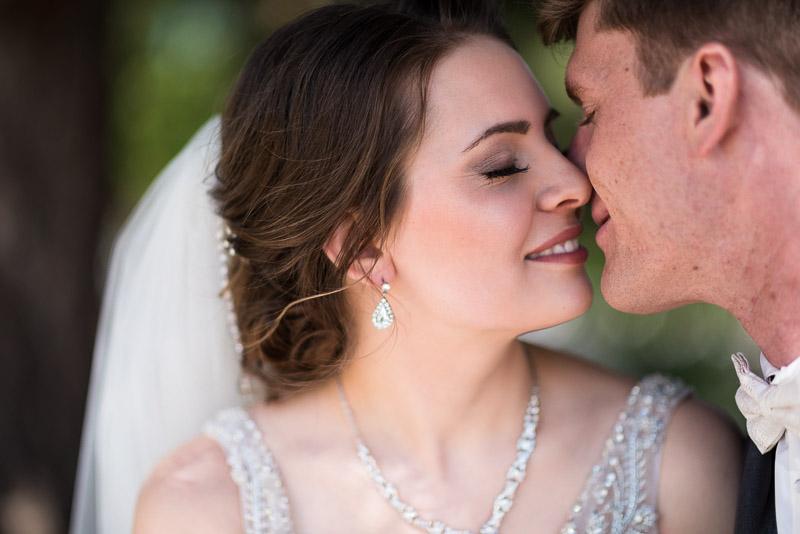 Denver Wedding Photography Wellshire Inn kiss