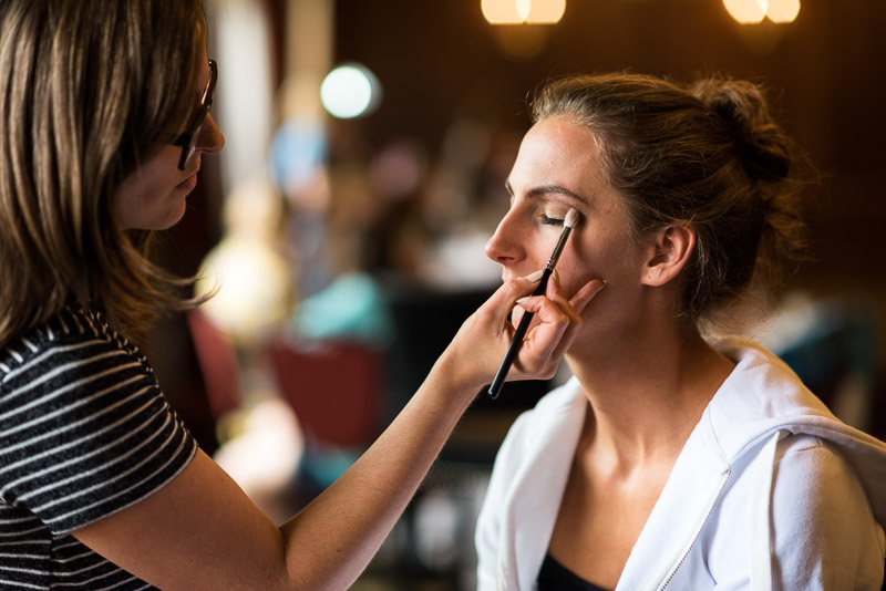 denver athletic club wedding photography bride makeup