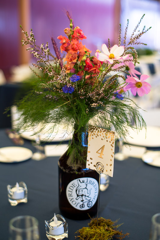denver athletic club wedding photography beer growler