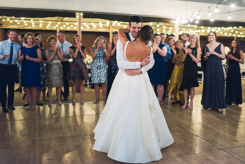 denver athletic club wedding photography couple hugging