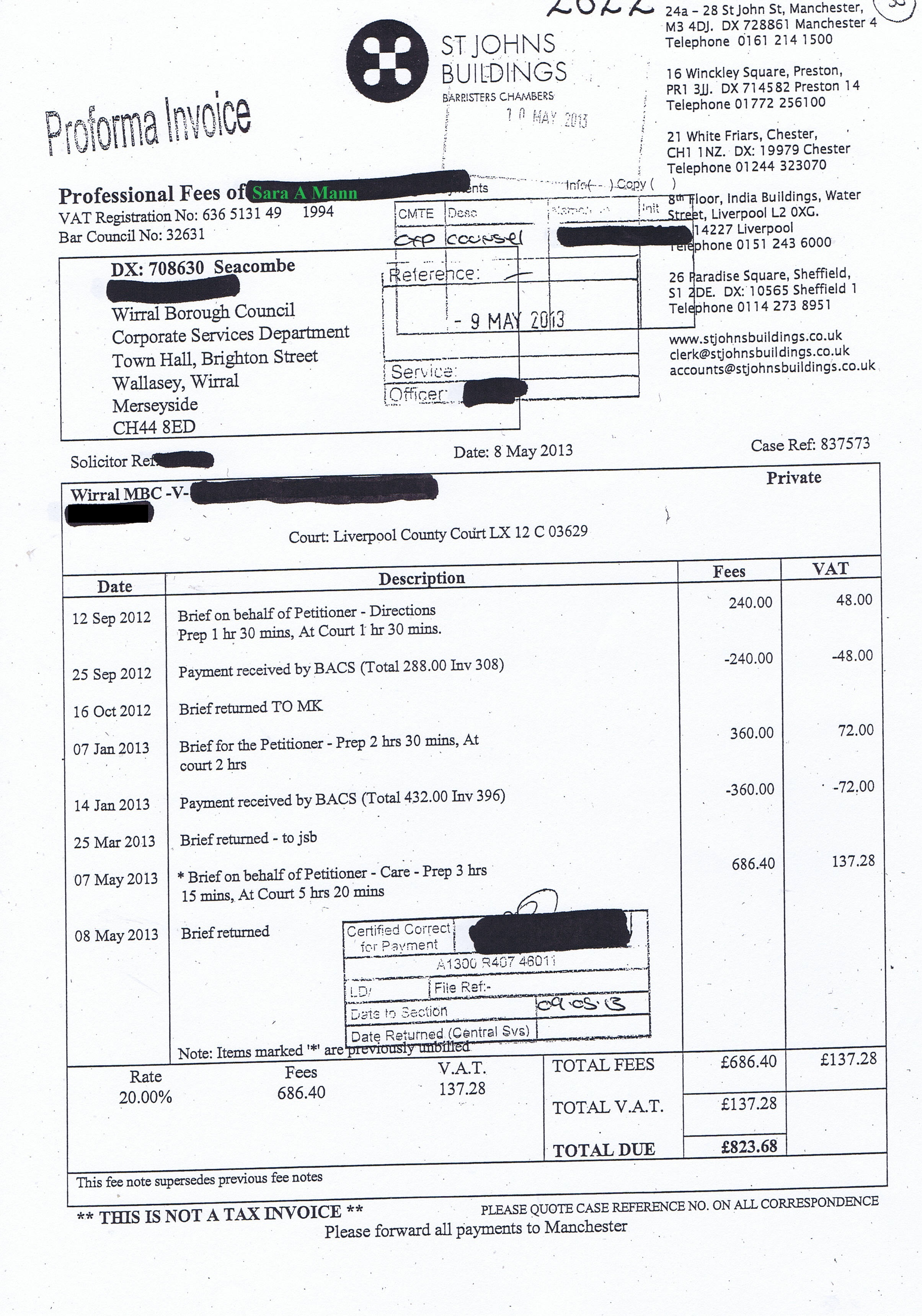 Exclusive 155 Invoices Paid By Wirral Council In 14 For Legal Services External Audit