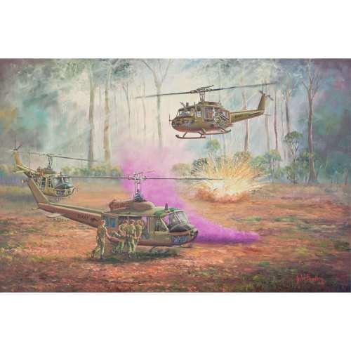 Hot Extraction Vietnam Painting John Bradley