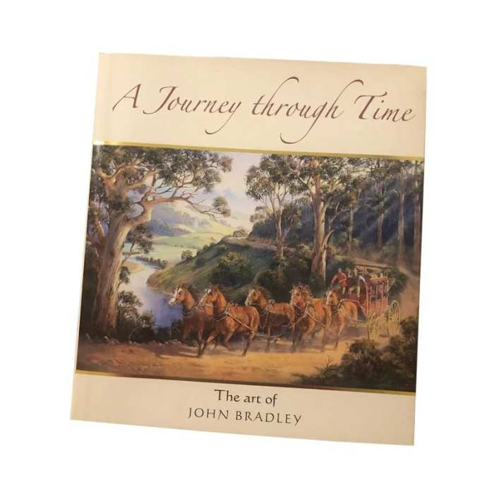 John Bradley Journey Through Time Art Book