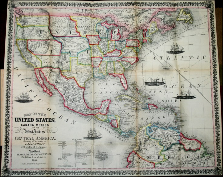 US Map 1853