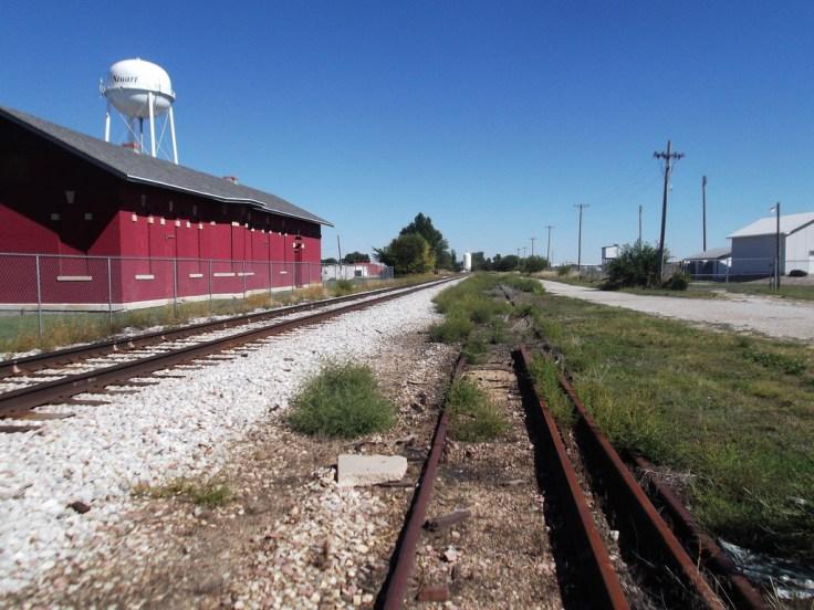 Stuart Iowa Train Station