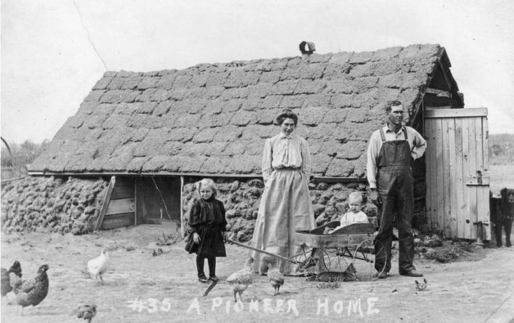 Nebraska Sod House