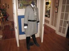 A Confederate Colonel's uniform in the Lloyd Tilghman House & Civil War Museum.