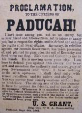 Paducah Proclamation of Grant.